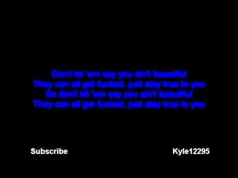 Eminem - Beautiful [LYRICS] [HD] [MP3 DOWNLOAD]
