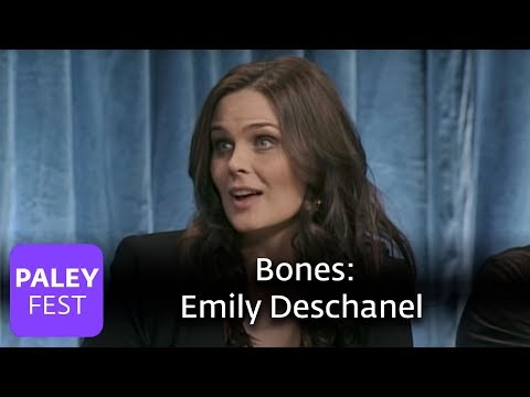 Bones - Emily Deschanel on Giving Birth in Real Life and Television