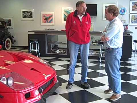 Roland Linder's Ferrari F40 LM *by Linder for sale - YouTube
