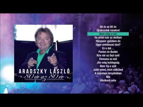 Aradszky László - 80 év Az 80 év ( Teljes Album)