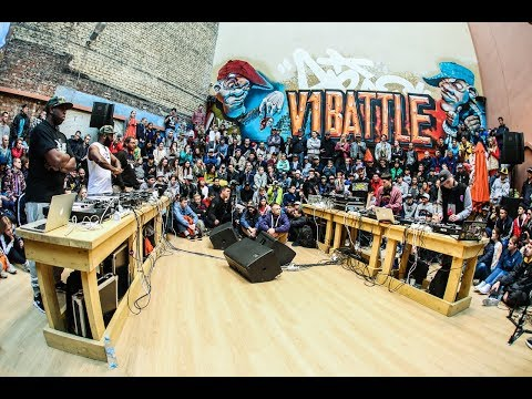 X-Ecutioners vs Russian Scratch Crew. 3×3. Battle of The Gods. V1 Festival 2017