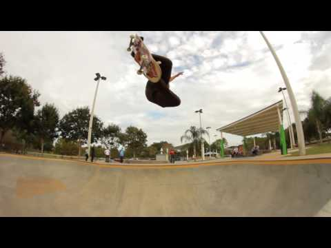 Nollie backside flip a bump to bar?! The Am and Flow team went berserk in Lakeland!