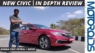 New Honda Civic India Review   In-Depth   All Pros and Cons   Motoroids