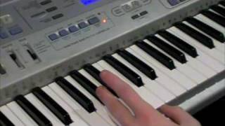 How To Play RUSTY BUCKET BAY on Piano (Part 2)