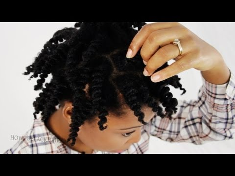 Twist Out Natural Hair 2 Strand Twists Take Down on 4c Hair Tutorial Part 3