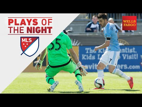 David Villa Backheel Skills & Goal Highlight Week 6 | Plays of the Night