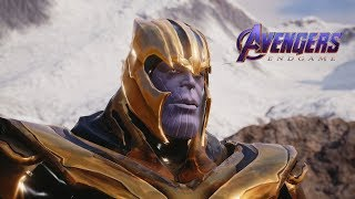 Jump Force - Thanos (Avengers Endgame) Playable Character Gameplay (MODS)