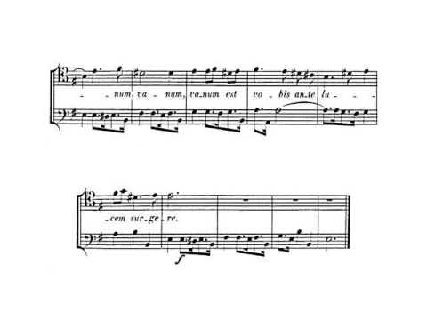 Гендель Георг Фридрих - Nisi Dominus, HWV 238