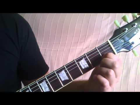 Nauka Gry Na Gitarze | Chwyty Gitarowe - Cdur