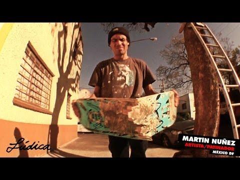 Martin Nuñez arte y patinetas