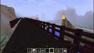 мост в майнкрафт