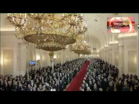 Russian President Vladimir Putin: The 2012 Inauguration (FULL) with English substitles