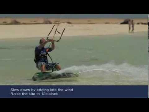 Turning - An ISAF Beginners Guide to transitional Kiteboarding .manoeuvres