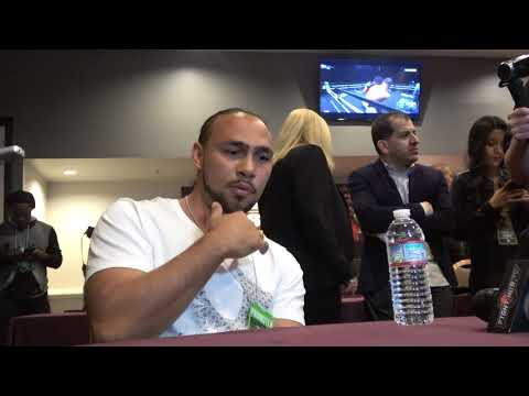 KEITH THURMAN MEETS MIKEY GARCIA AND TEAM EsNews Boxing