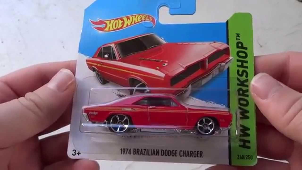 Hot wheels unboxing 1974 brazilian dodge charger youtube