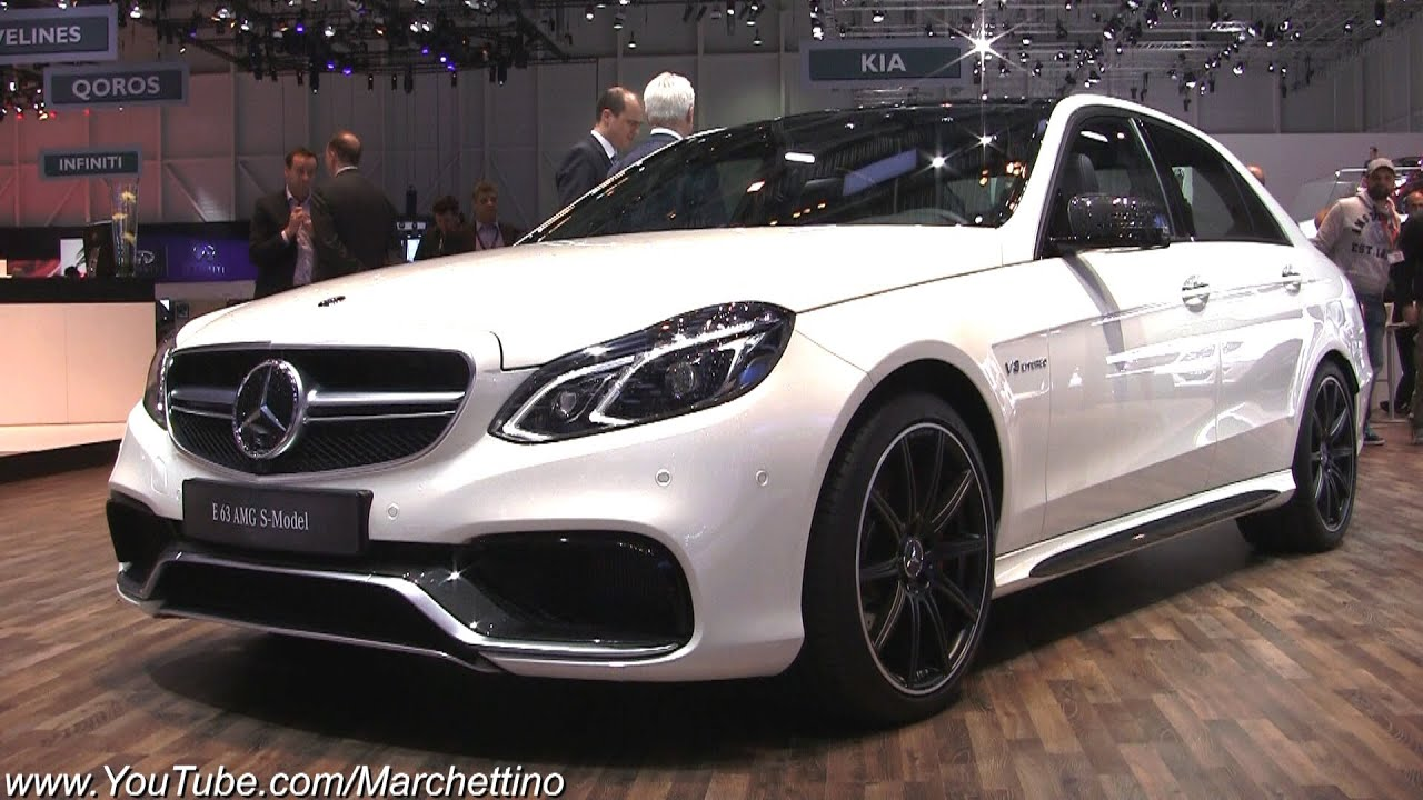 2014 Mercedes E63 Amg S 4matic In Detail Youtube