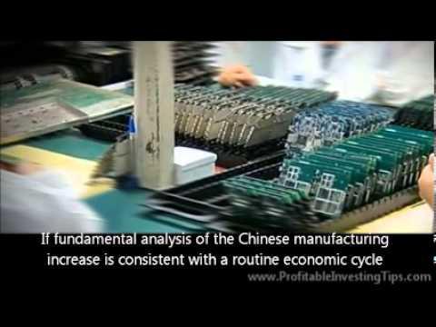 Chinese Manufacturing Increase