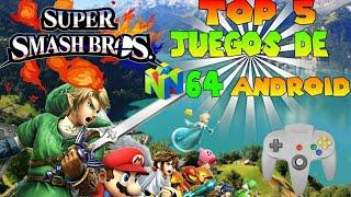Top 5 mejores juegos de nintendo 64 para android [ parte #1 ] ( mega - mediafire )