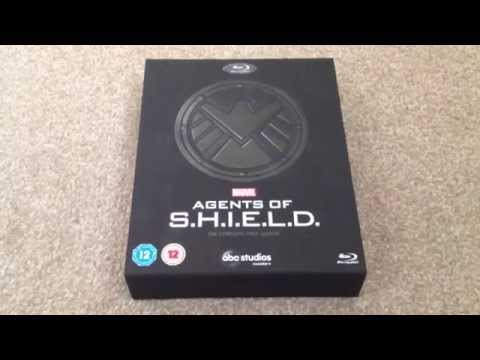 Marvel: Agents of S.H.I.E.L.D: The complete first season Blu-ray unboxing