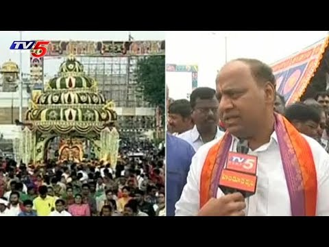 Garuda Vahanam Brahmotsavam | Tirupati | TV5 News