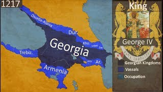History of Georgia [1300BC-2018AD]  every Year