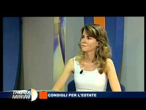 CONSIGLI D'ESTATE prima parte La dott.ssa Annamaria Acquaviva intervista il Dott. Gaddoni