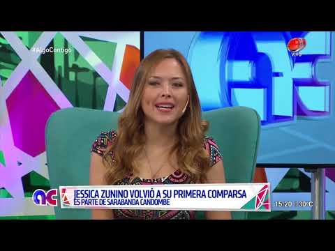 Algo Contigo - Jessica Zunino 8 de Enero de 2019