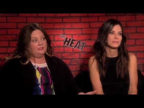 Melissa McCarthy And Sandra Bullock Interview For THE HEAT - Paul Feig