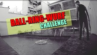 BALL-RING-WEITWURF CHALLENGE | KsFreakWhatElse