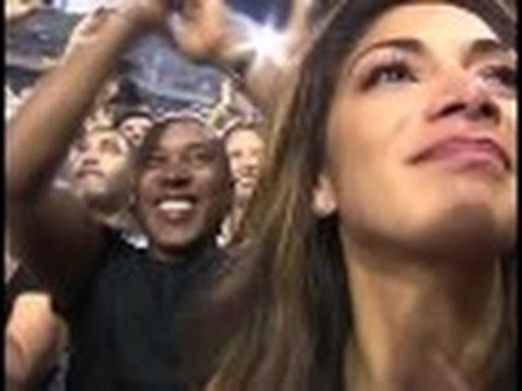 Lewis Hamilton WINS The 2014 Formula One World Championship - Kissing Girlfriend Nicole Scherzinger