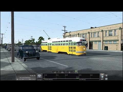 TS2017 HD: PCC Streetcar Action on Sacramento Northern & Key System in Oakland