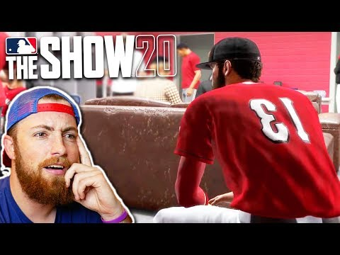 This is Road To The Show in MLB The Show 20..