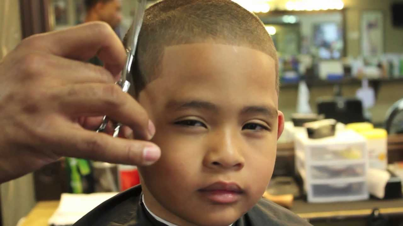 All Even Ceasar Kids Haircut Youtube