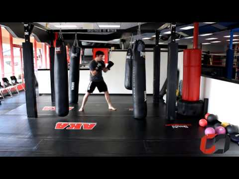 Home MMA Cardio Training: Boxing Interval Workout on the Bag Image 1