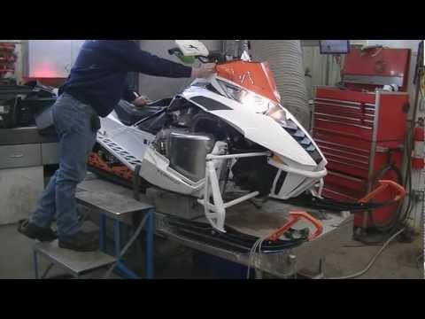2012 Arctic Cat F1100 Turbo - Sandale Fabrication