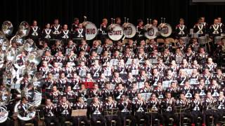 Ohio State Marching Band 2013 Concert Eternal Father The Navy Hymn 11 10 2013