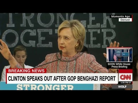 Clinton: Time to move on from Benghazi