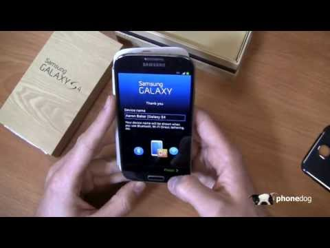Samsung Galaxy S4 Unboxing (International)