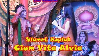 Slamet Koplak Cium Vita & Cita Lilin Live Tegalyasan 2017-Janger Sri Budoyo
