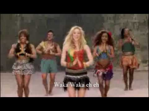 Waka Waka(this Time For Africa)-shakira (letra) video