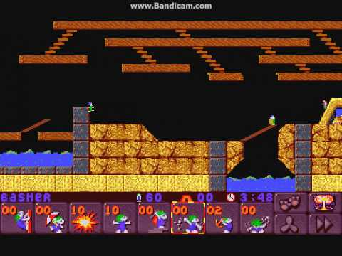 Lemmings 2: Classic 4 - No Deaths (A Timing Nightmare)