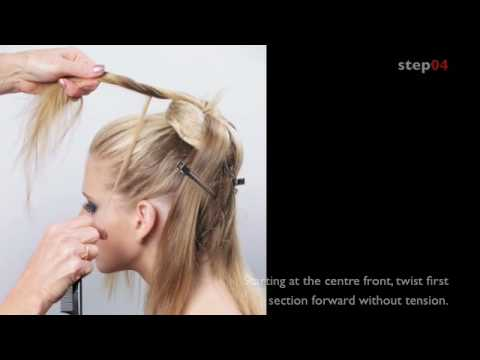 Step by Step Upstyles from Long Hair Volume Two by Sharon Blain,