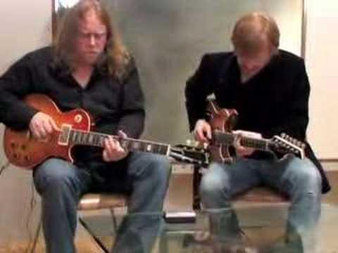 Warren and Trey Jam