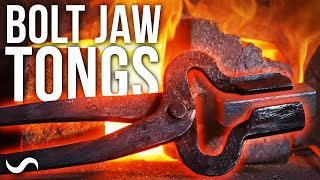 MAKING BOLT JAW TONGS!!!