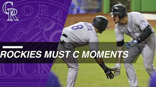 Must C: Top moments from the Rockies' 2017 season