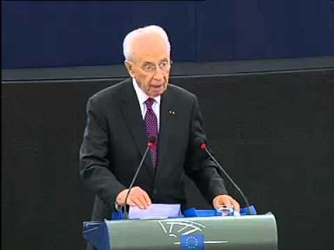Address by President Shimon Peres to the European Parliament