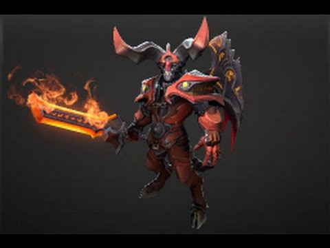 Dota 2 Store The Apocalyptic Fire Set Doom How To