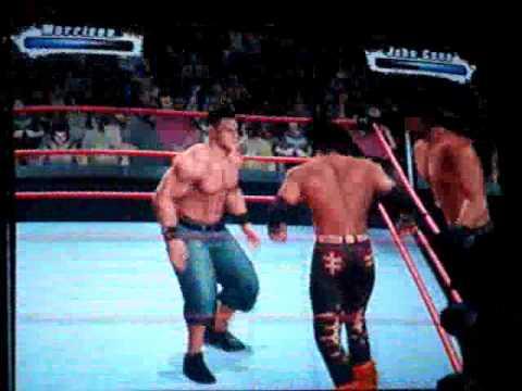 The Miz e John Morrison Vs John Cena e Chuck Palumbo 1/2 ...