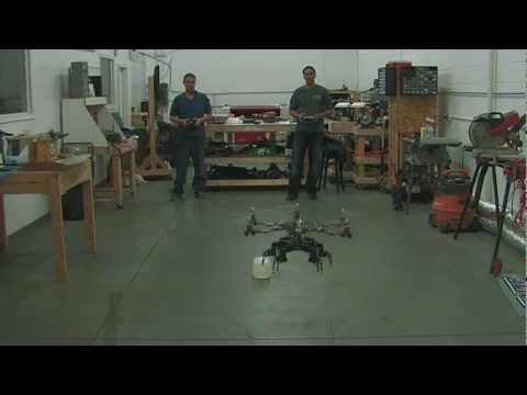 MLI: Hexcopter Meets Hexapod, Part 2