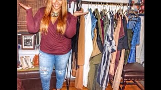Huge Fall 2015 Plus Size Fashion Haul | Boohoo, Burlington Coat Factory, Rainbow